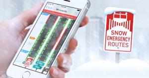 Minneapolis Snow Emergency App